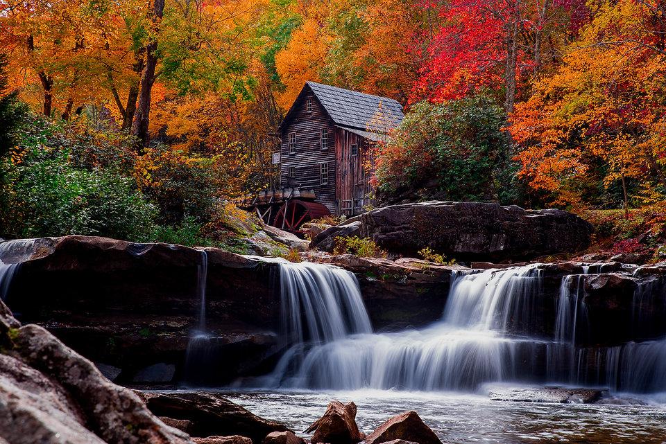2014.10.13.    Glade Creek Grist Mill  B