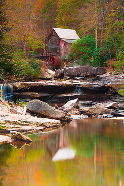 2017.10.15.    Glade Creek Grist Mill  B