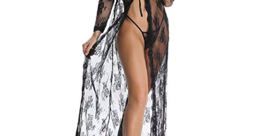 All Over Lace Gown / Robe Set
