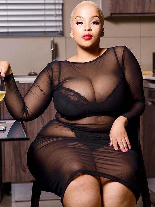 Goddess Sheer Dress