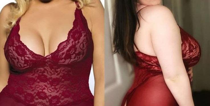 Sexy ROCKET Burgundy Lace Playsuit