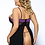 Thumbnail: 'Cheeky' Open Back Babydoll & G String Set - SALE