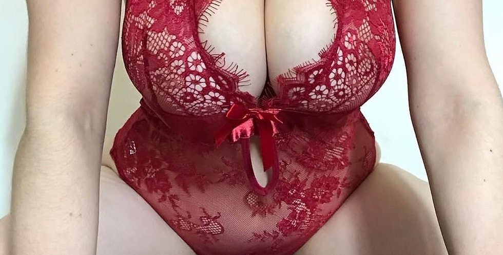 Stunning Just For You Lace teddy