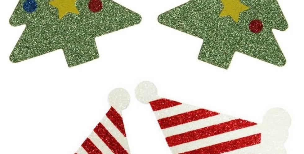 CHRISTMAS Pasties / Nipple Covers