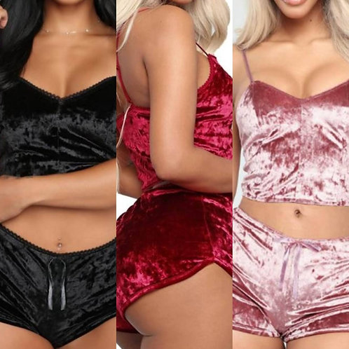 HOLLY 2 Piece Luxury PJ / Lounge Set - 3 Colours
