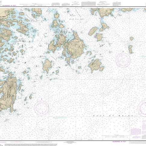 13313: Approaches to Blue Hill Bay