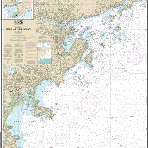 13275: Salem and Lynn Harbors; Manchester Harbor