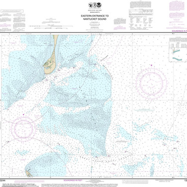 13244: Eastern Entrance to Nantucket Sound