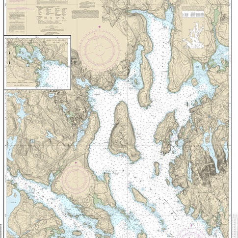 13316: Blue Hill Bay; Blue Hill Harbor