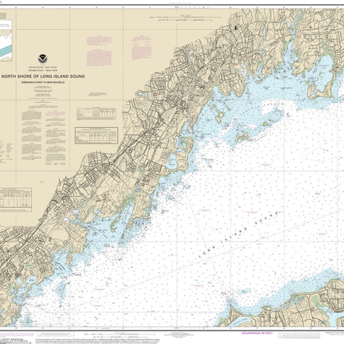 12367: North Shore of Long Island Sound; Greenwich Point to New Rochelle