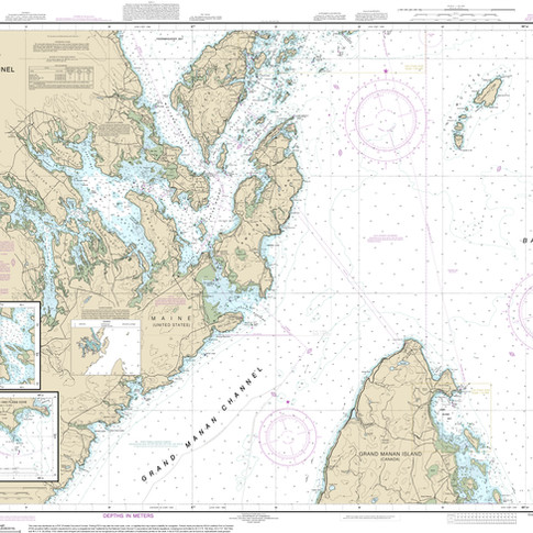 13394: Grand Manan Channel Northern Part; North Head and Flagg Cove