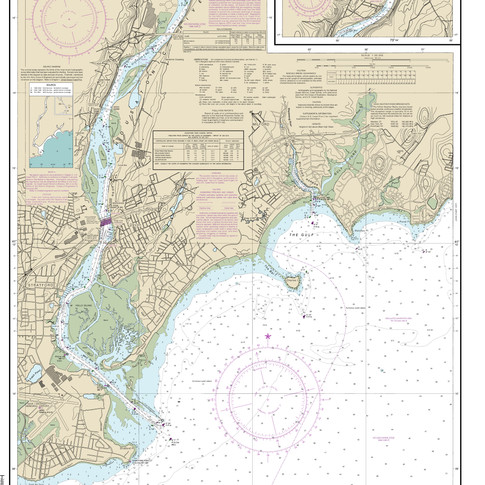 12370: North Shore of Long Island Sound; Housatonic River and Milford Harbor