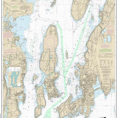 13223: Narragansett Bay including Newport Harbor