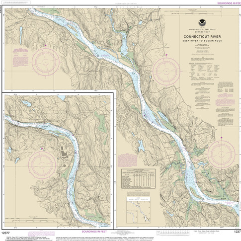 12377: Connecticut River; Deep River to Bodkin Rock