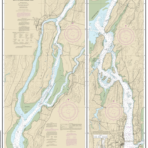 13298: Kennebec River, Bath to Courthouse Point