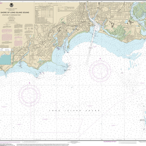12369: North Shore of Long Island Sound; Stratford to Sherwood Point