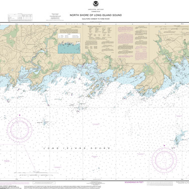 12373: North Shore of Long Island Sound; Guilford Harbor to Farm River