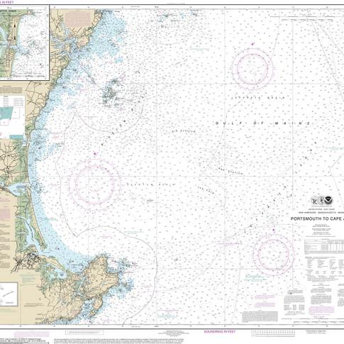 13278: Portsmouth to Cape Ann; Hampton Harbor