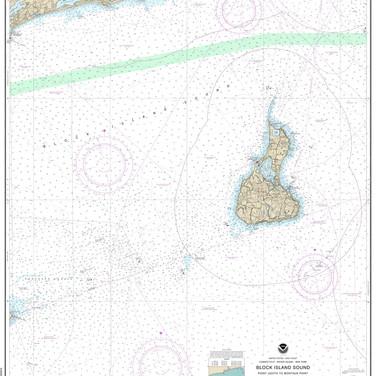 13215: Block Island Sound ; Point Judith to Montauk Point