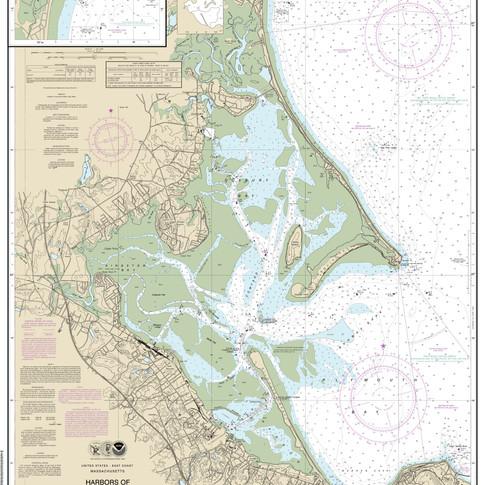13253: Harbors of Plymouth, Kingston and Duxbury; Green Harbor