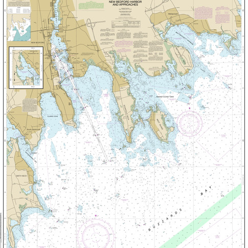 13232: New Bedford Harbor and Approaches