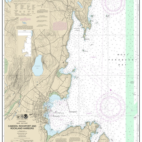 13307: Camden, Rockport and Rockland Harbors