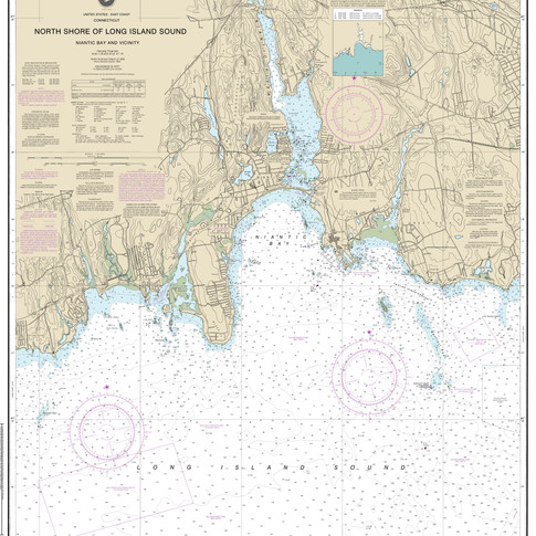 13211: North Shore of Long Island Sound; Niantic Bay and Vicinity