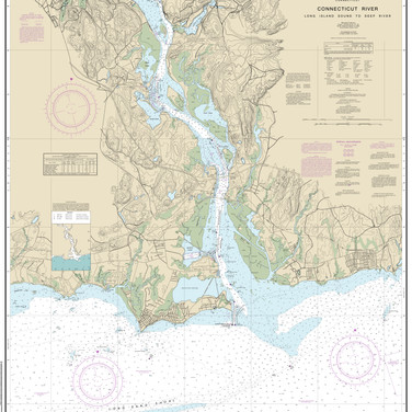 12375: Connecticut River; Long Island Sound to Deep River