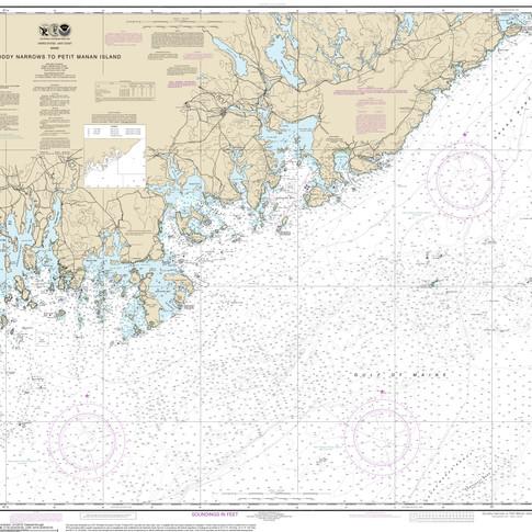13325: Quoddy Narrows to Petit Manan Island