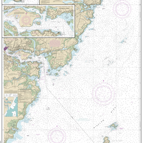 13283: Portsmouth Harbor; Cape Neddick Harbor to Isles of Shoals