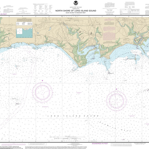 12374: North Shore of Long Island Sound; Duck Island to Madison Reef