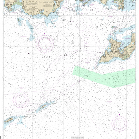 13212: Approaches to New London Harbor