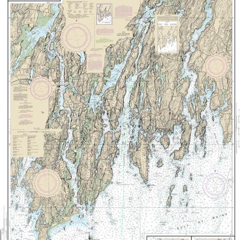 13293 Damariscotta, Sheepscot and Kennebec Rivers