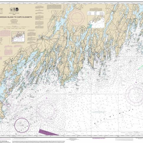 13288 Monhegan Island to Cape Elizabeth