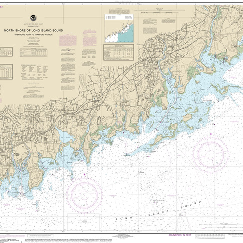 12368: North Shore of Long Island Sound; Sherwood Point to Stamford Harbor
