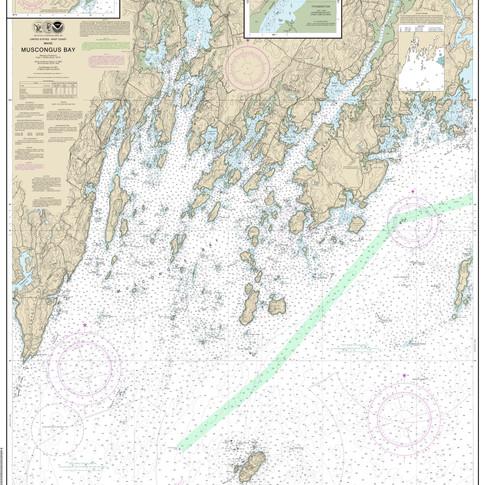13301: Muscongus Bay; New Harbor; Thomaston