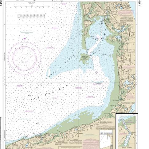13250: Wellfleet Harbor; Sesuit Harbor