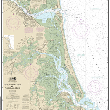 13282: Newburyport Harbor and Plum Island Sound