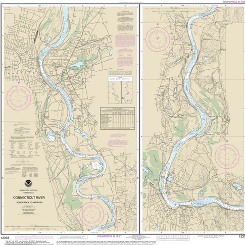 12378: Connecticut River; Bodkin Rock to Hartford