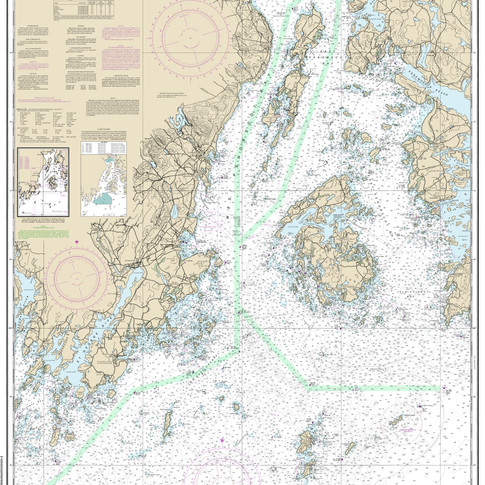 13302: Penobscot Bay and Approaches