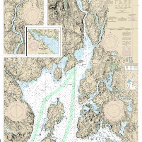 13309: Penobscot River; Belfast Harbor