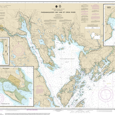 13398: Passamaquoddy Bay and St. Croix River; Beaver Harbor; Saint Andrews; Todds Point