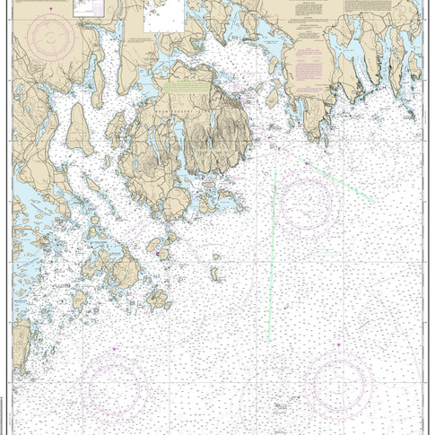 13312: Frenchman and Blue Hill Bays and Approaches