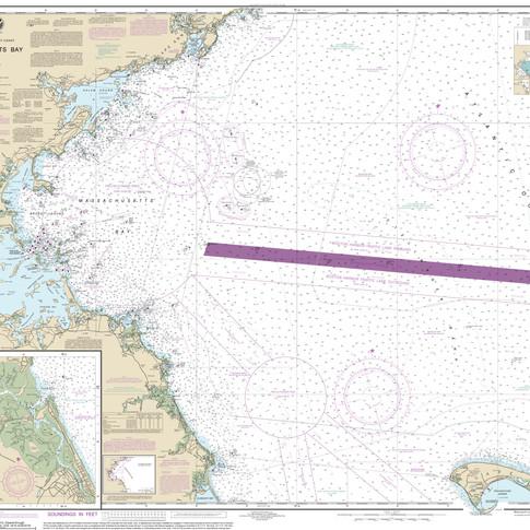 13267: Massachusetts Bay; North River
