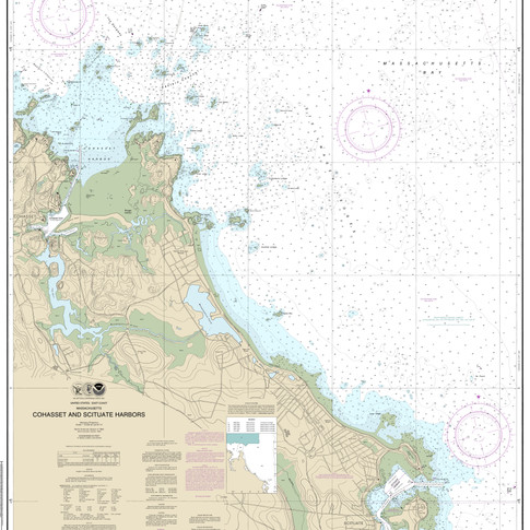13269: Cohasset and Scituate Harbors