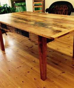 Vintage Barn board Dining Table