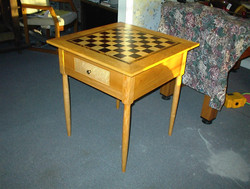 Custom Built Chess Board Table