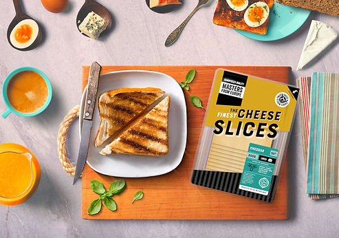 Masters From Europe - Natural Cheese Sli