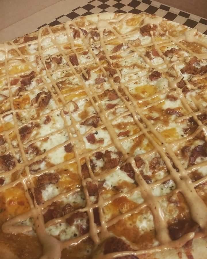 bacon ranch pizza