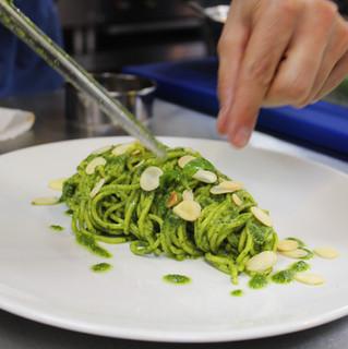 Tagliolini al Pesto